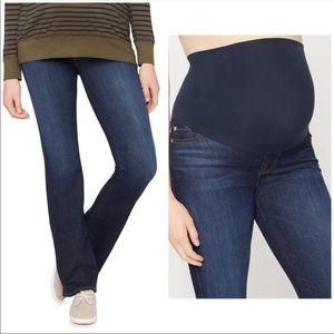 7 For All Mankind Maternity Bootcut Jeans 29 x 35